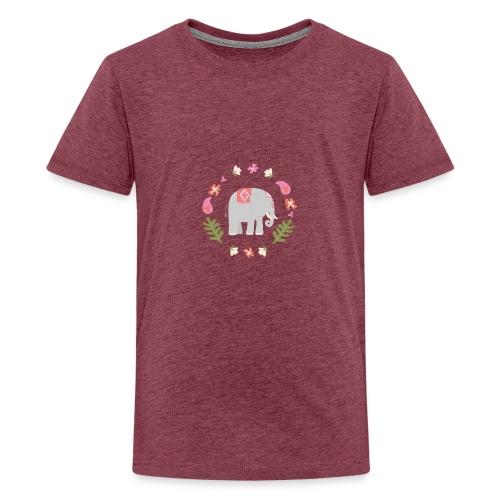 Indian elephant - Maglietta Premium per ragazzi