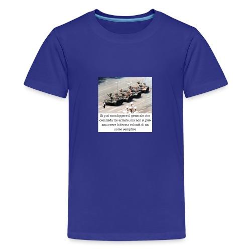 Volontà - Maglietta Premium per ragazzi