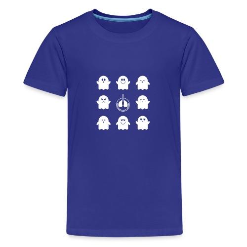 Der Klassiker. Die lustigen Schulgeister in blau - Teenager Premium T-Shirt