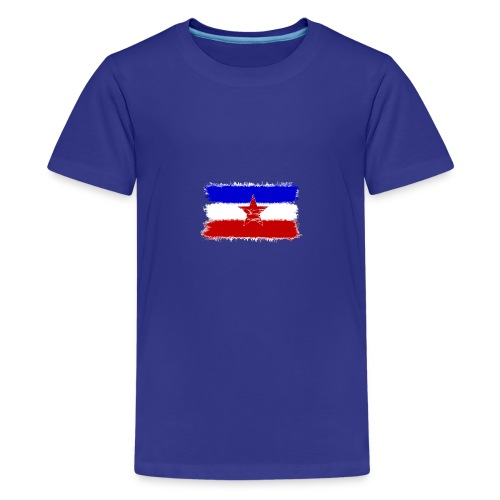 Jugo Flagge 1 Handy png - Teenager Premium T-Shirt