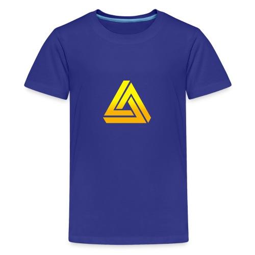 DIE KONFI 2015 TRSP Schwarze Schrift png - Teenager Premium T-Shirt