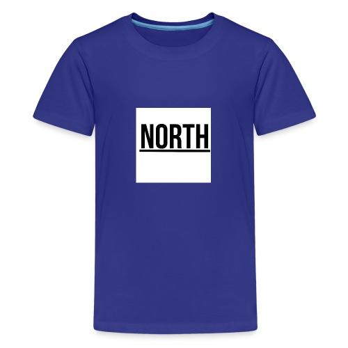 North T-Shirt VIT Man - Premium-T-shirt tonåring