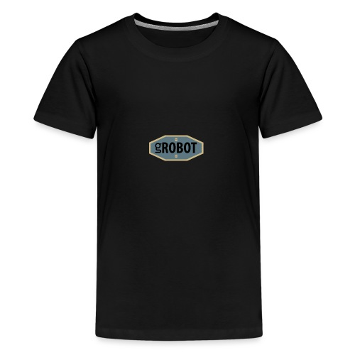 gRobot Logo - Maglietta Premium per ragazzi