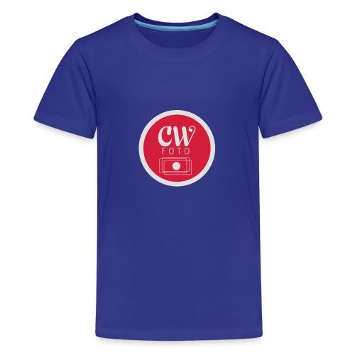 cw_foto_simplyfied-ai - Premium T-skjorte for tenåringer