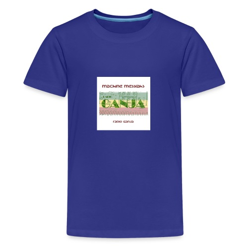radio ganja - Teenage Premium T-Shirt