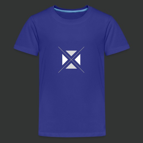 hipster triangles - Teenage Premium T-Shirt