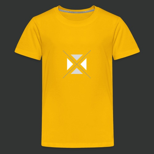 hipster triangles - Teenage Premium T-Shirt