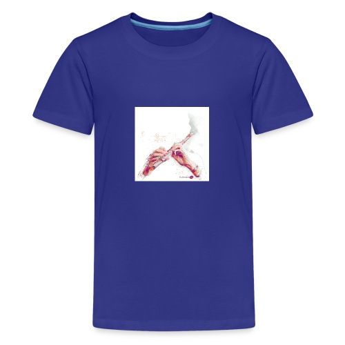 fluitnoten mok - Teenage Premium T-Shirt