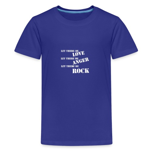Love Anger Rock - Teenage Premium T-Shirt
