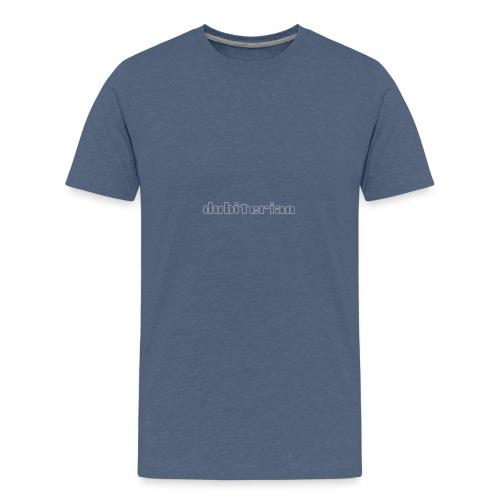 dubiterian1 gif - Teenage Premium T-Shirt
