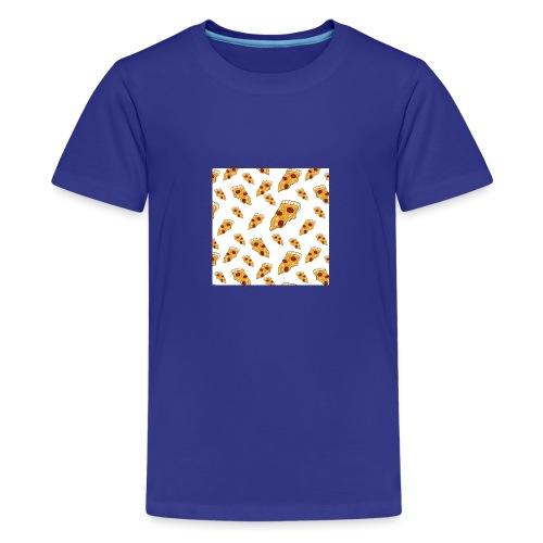 PizzaPattern png - Teenage Premium T-Shirt