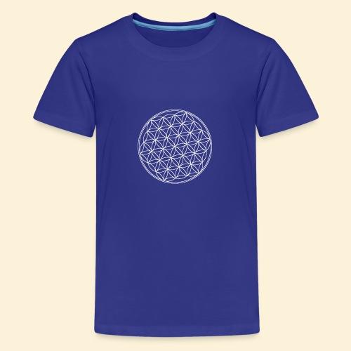 Lebensblume - Teenager Premium T-Shirt