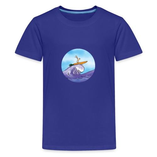 Morotssurfning - Premium-T-shirt tonåring