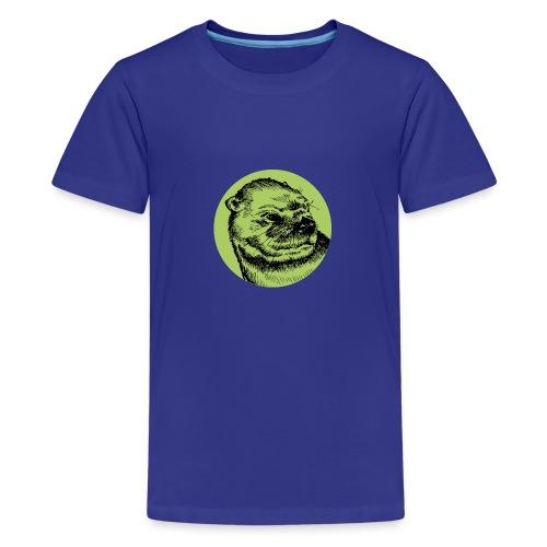 Une Loutre Verte - T-shirt Premium Ado