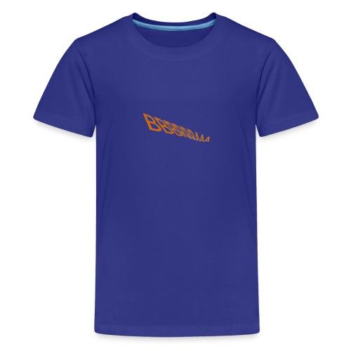 1 LOGO FÜR T SHIRT png - Teenager Premium T-Shirt