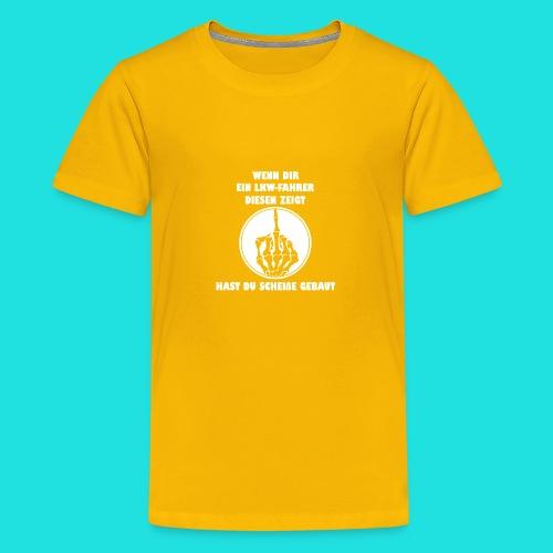 LKW-Fahrer - Teenager Premium T-Shirt