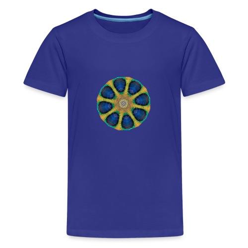 Pfau Kaleidoskop - Teenager Premium T-Shirt