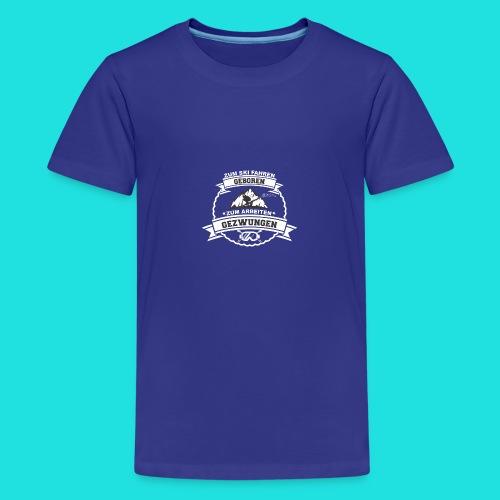 Skifahren Gezwungen 2 - Teenager Premium T-Shirt
