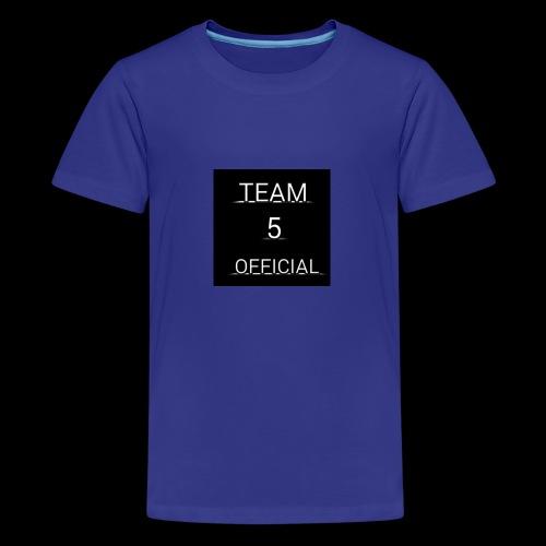 Team5 official 1st merchendise - Teenage Premium T-Shirt