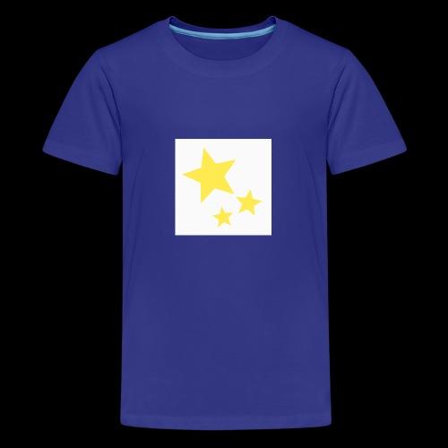 Dazzle Zazzle Stars - Teenage Premium T-Shirt
