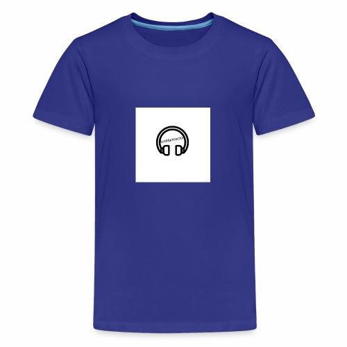 Headphones - Teenage Premium T-Shirt