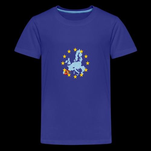 EU Spain (Europa Spanien) - Teenager Premium T-Shirt