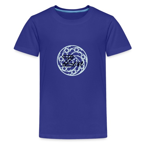 Zen1 Black - Teenage Premium T-Shirt