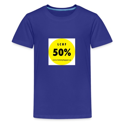 knapp 50 3 - Premium-T-shirt tonåring