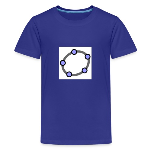 GeoGebra Ellipse - Teenage Premium T-Shirt