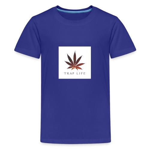 traplife - Camiseta premium adolescente