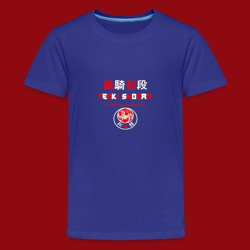 Tekki Shodan - Shotokan Kata - Karate - Japan - Teenager Premium T-Shirt