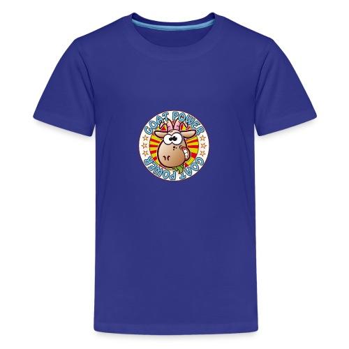 Goat Power - Teenage Premium T-Shirt