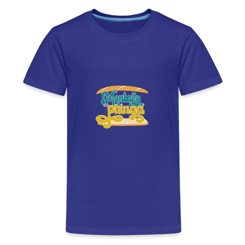 Montaíto de pringá - Camiseta premium adolescente