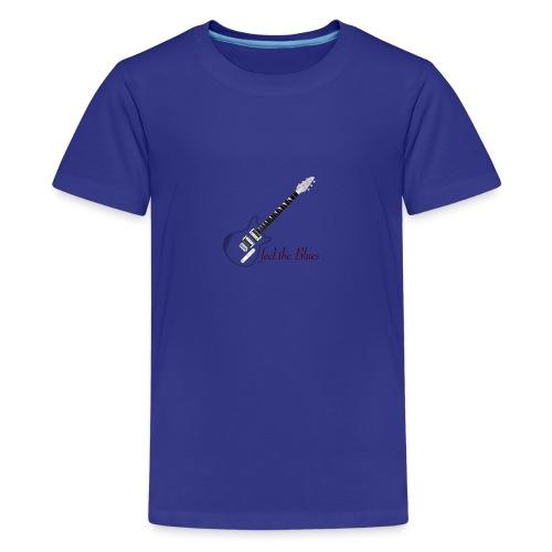 Blues - Teenager Premium T-Shirt