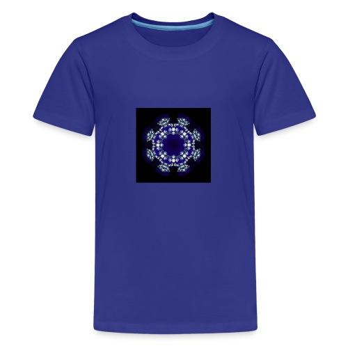 Mandala Diamante - Camiseta premium adolescente