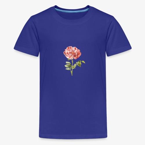 tulipe vintage - T-shirt Premium Ado
