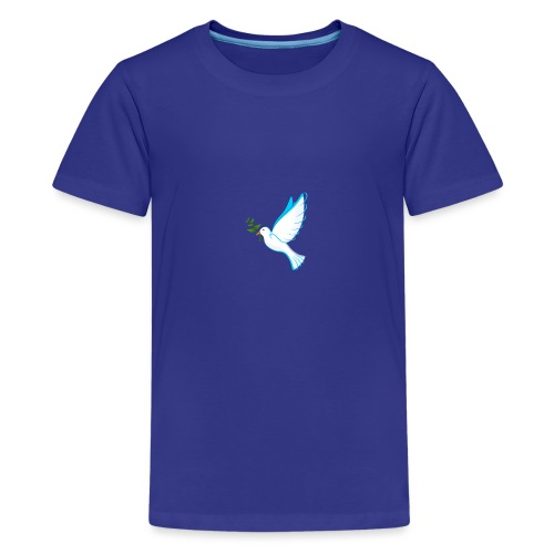 Dove of Peace - Teenage Premium T-Shirt