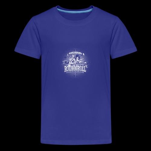 Rock 'n' Roll - Sounds Like Heaven (white) - Teenager Premium T-Shirt