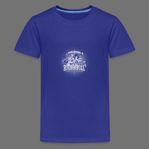 Rock 'n' Roll - Sounds Like Heaven (valkoinen) - Teinien premium t-paita