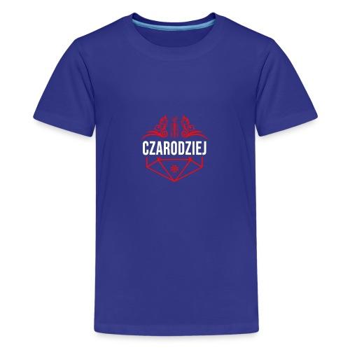 Klasa: czarodziej - Koszulka młodzieżowa Premium