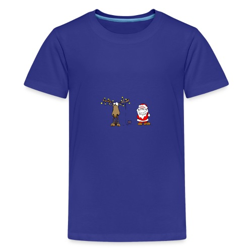 noel branché - T-shirt Premium Ado