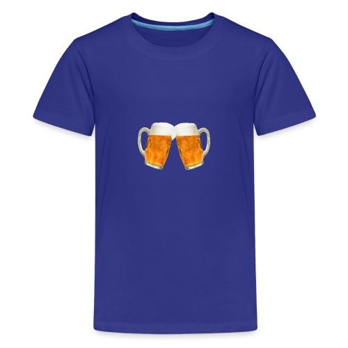 Zwei Bier - Teenager Premium T-Shirt