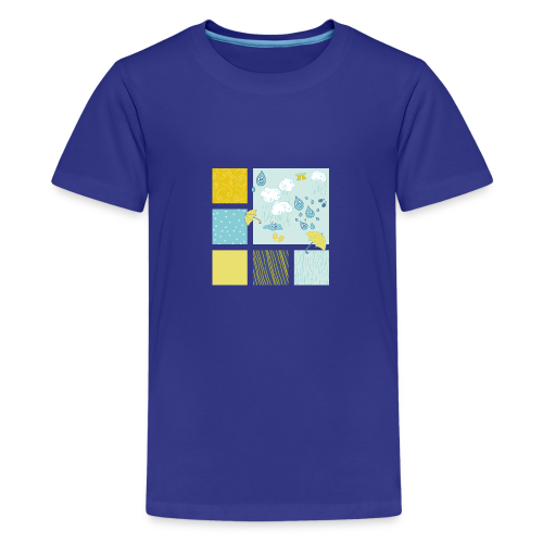 Sommerregen Liebe - Teenager Premium T-Shirt