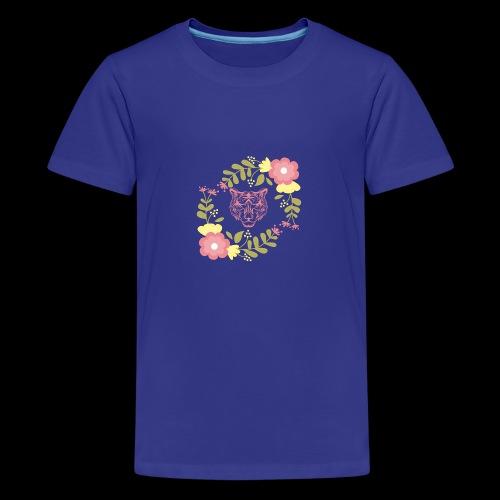 Tee-shirt TIGRE - T-shirt Premium Ado