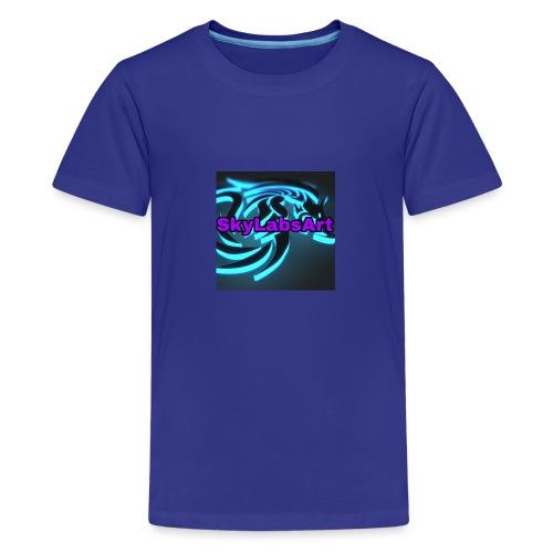 SKYLABSART LOGO - Teenager Premium T-Shirt