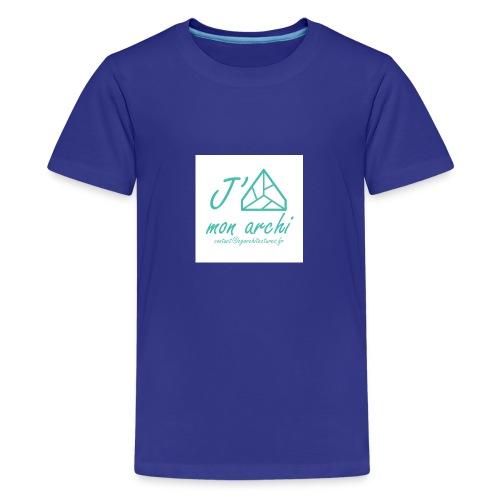 J aime mon archi - T-shirt Premium Ado