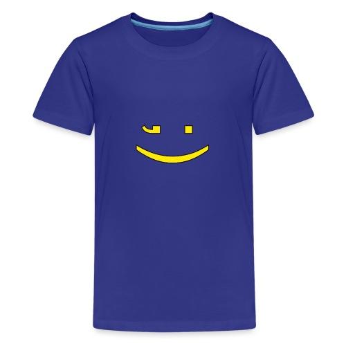 Zwinker - Teenager Premium T-Shirt