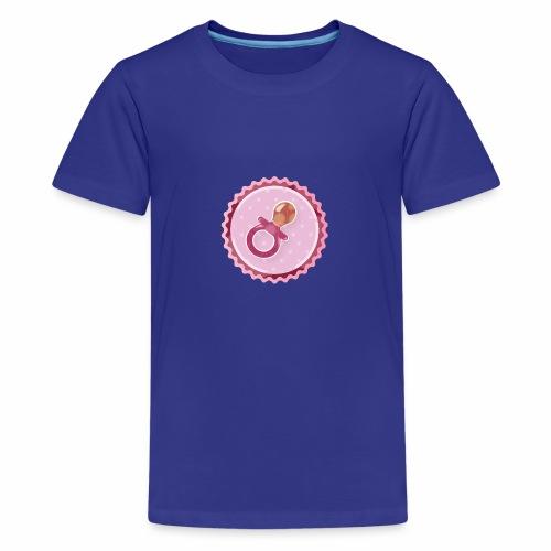 Baby Pacifier - Teenager Premium T-Shirt