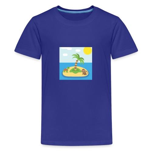 apa - Premium-T-shirt tonåring