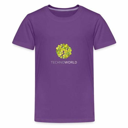 Techno World - Teenager Premium T-Shirt